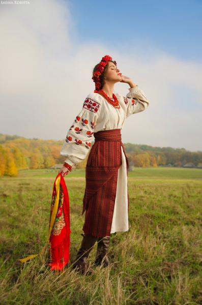 украинский национальный костюм женский