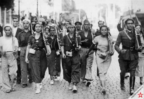 испанская гражданская война