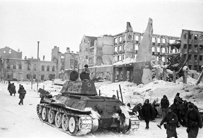 контрнаступление красной армии под сталинградом началось