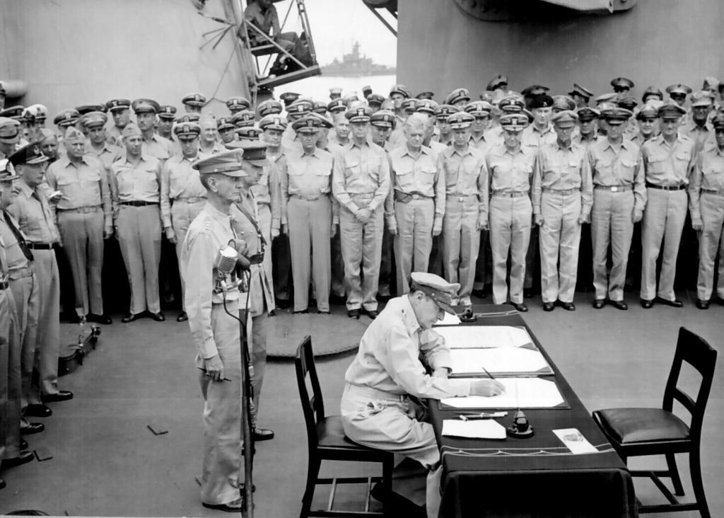 капитуляция японии во второй мировой войне дата
