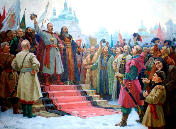 присоединение украины к россии кратко