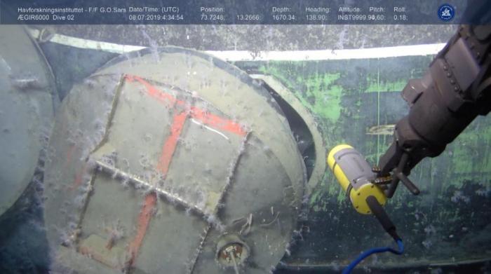 комсомолец подводная
