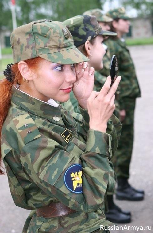женщины военнослужащие в россии