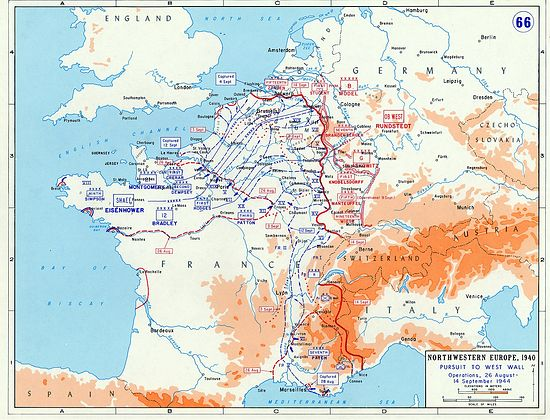 второй фронт в европе был открыт