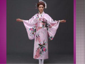традиционная одежда японии