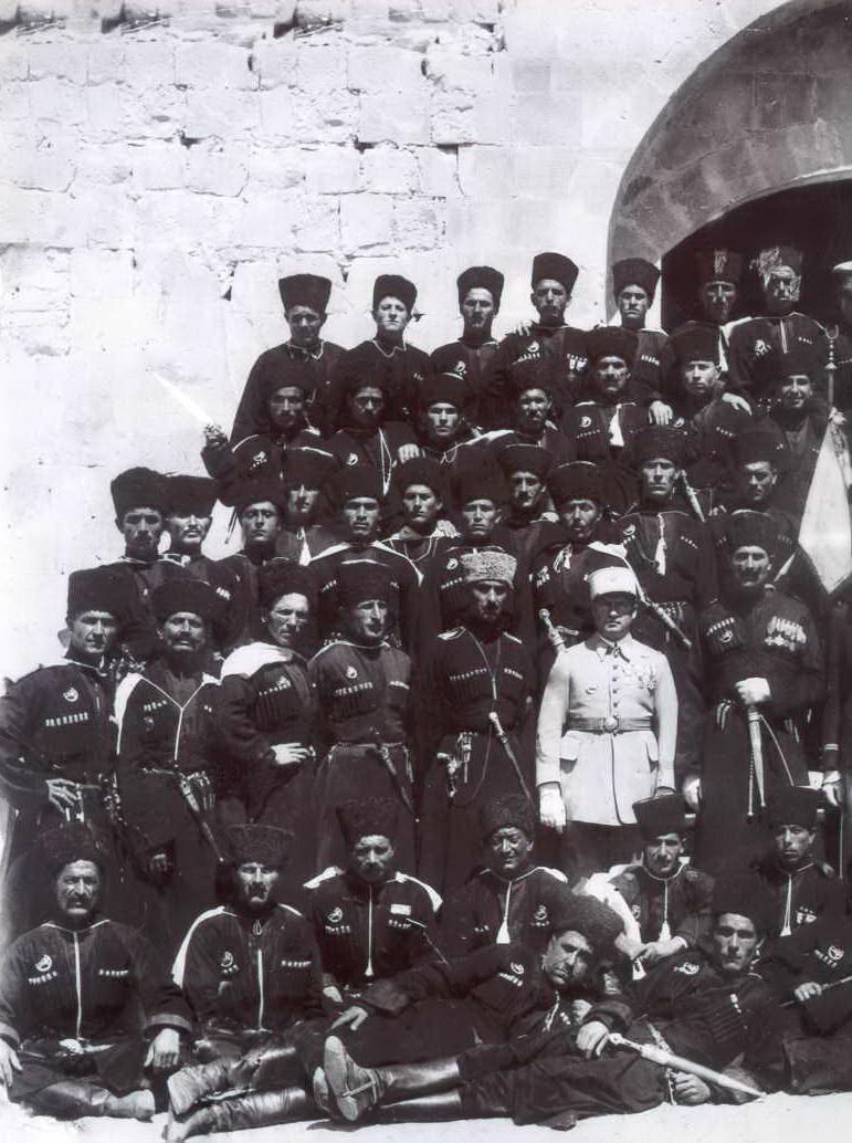 черкеска казачья