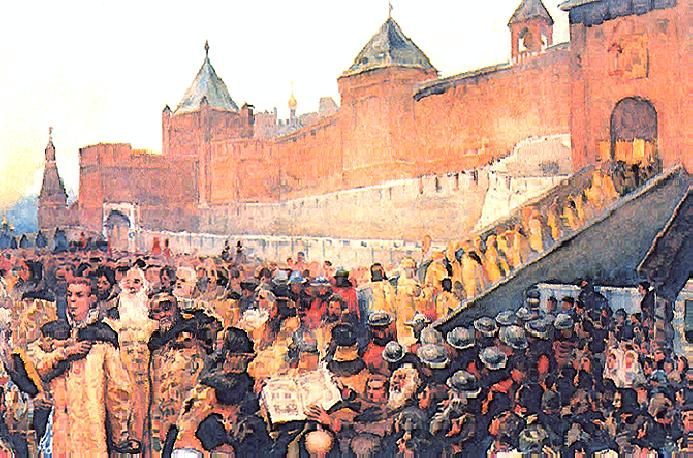 вторжение лжедмитрия 1 в россию дата