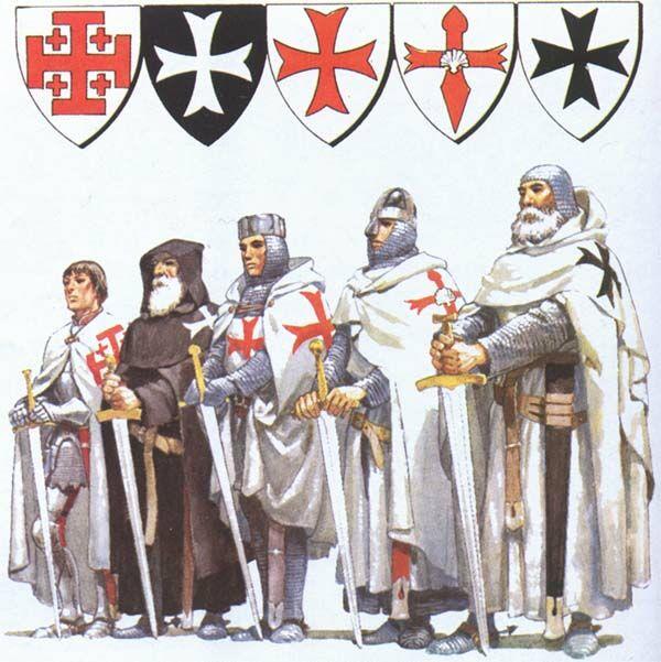 ордена крестоносцев список