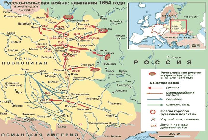 начало польской интервенции