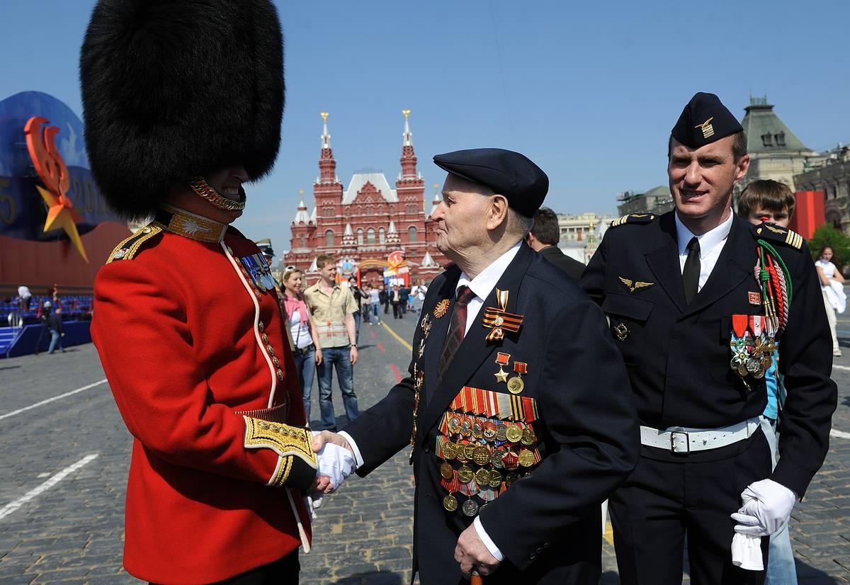 первый парад победы на красной площади состоялся