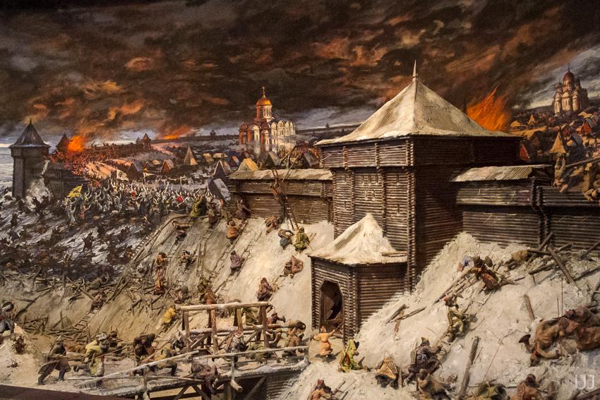 первое столкновение русских с монголо татарами произошло