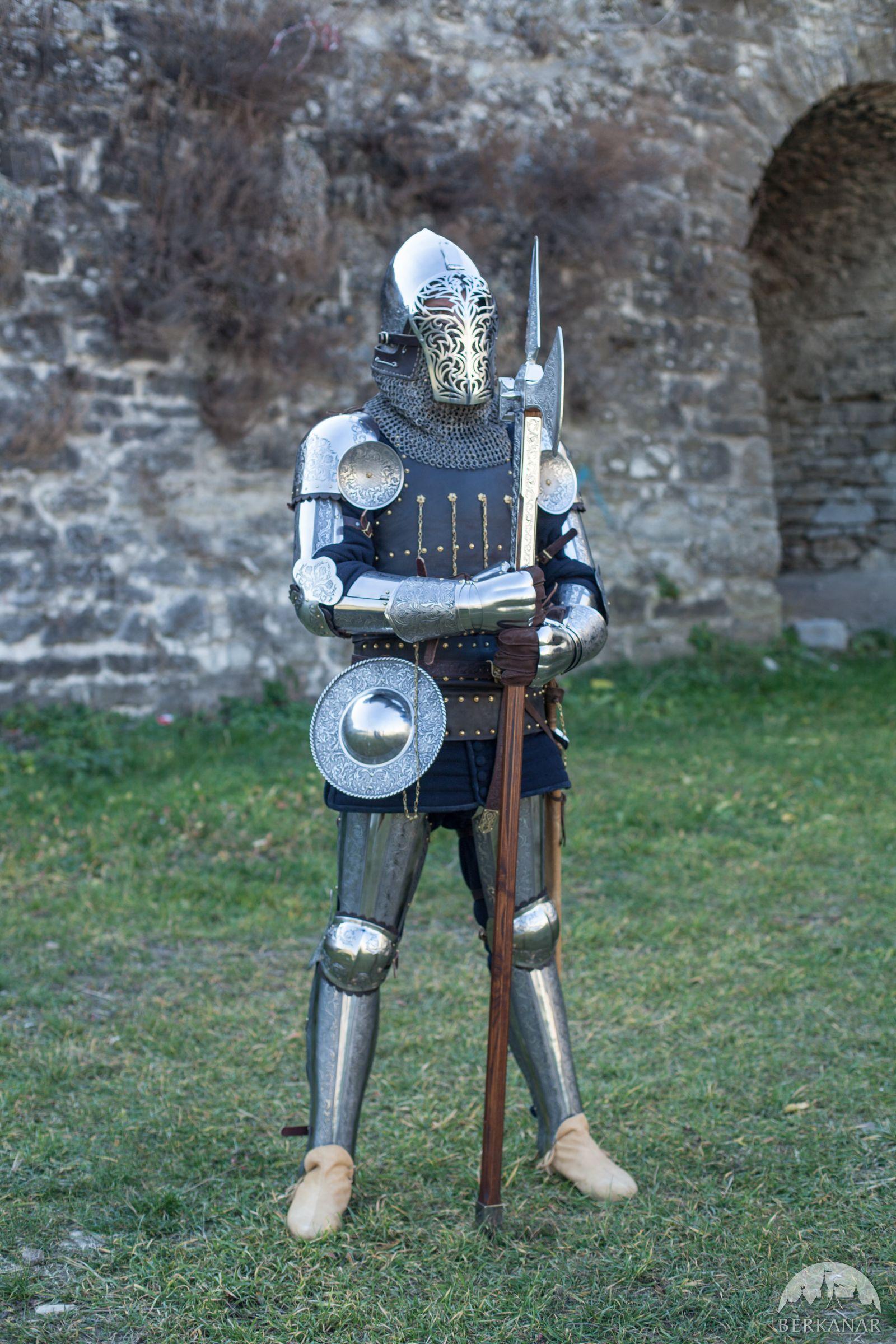рыцарское снаряжение