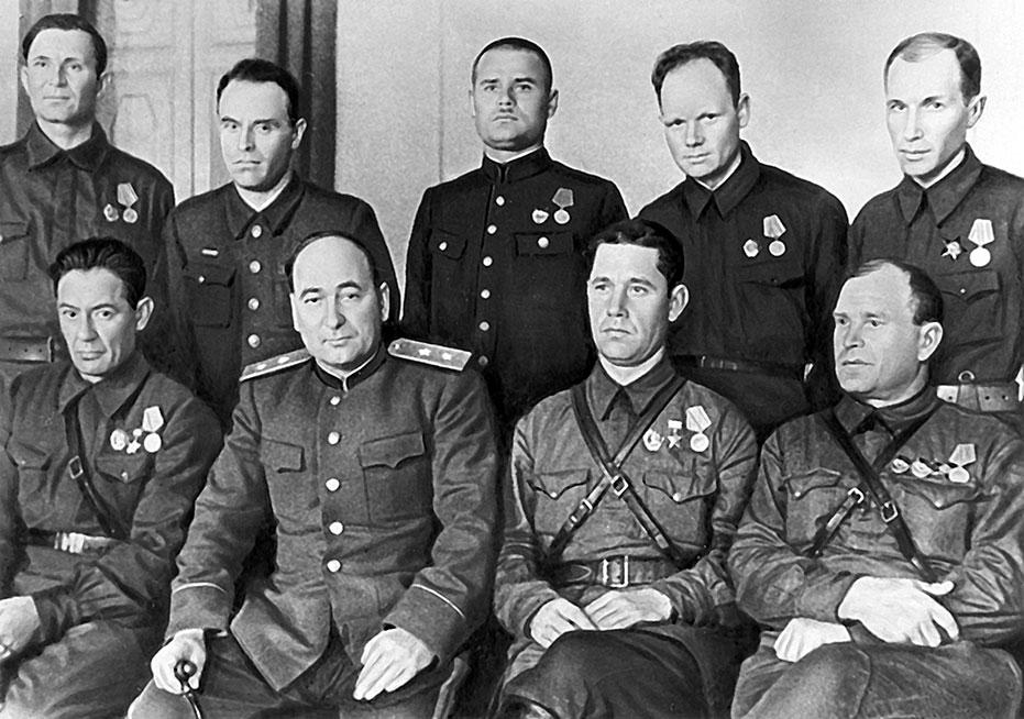 партизанские отряды в годы великой отечественной войны