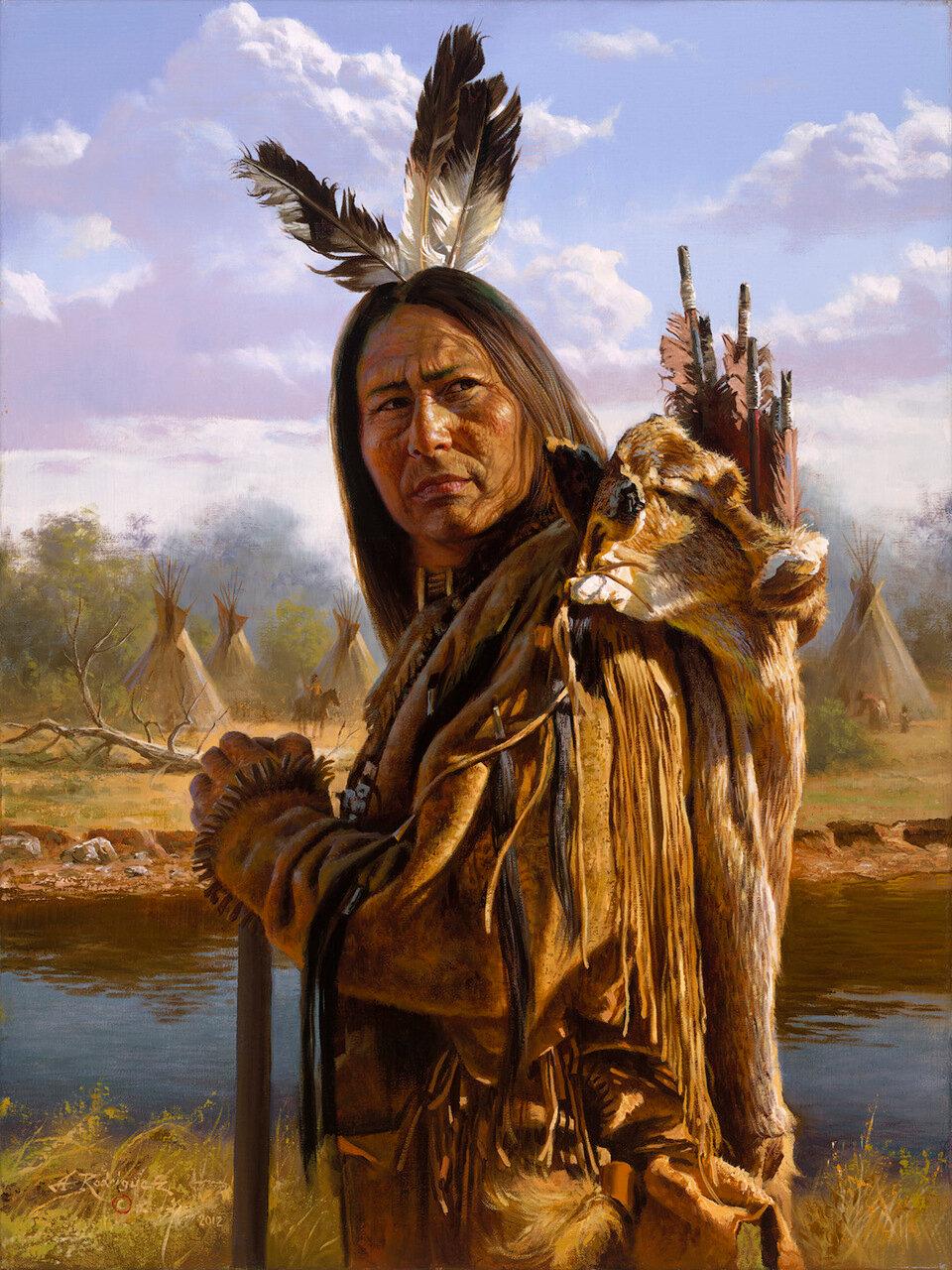 индейское племя в америке