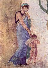 костюм древнего рима