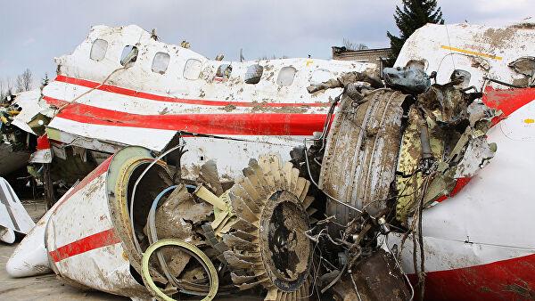 крушение польского самолета под смоленском