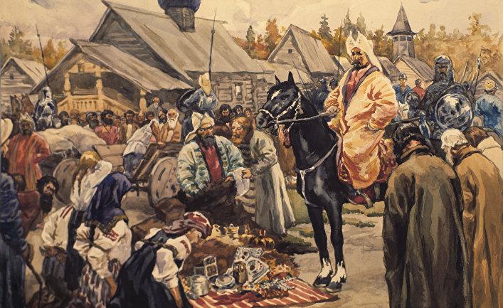 освобождение руси от золотой орды