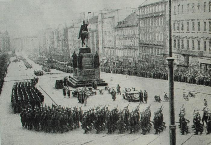 оккупация чехословакии 1938