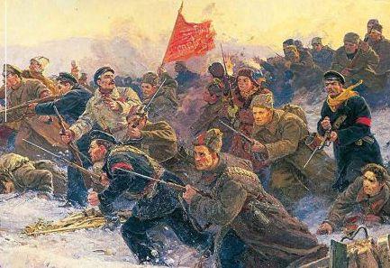 красная и белая армия в гражданской войне