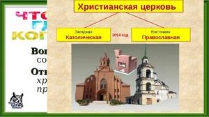 разделение церквей