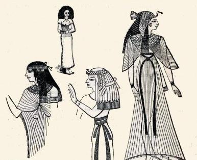 как одевались рабы в древнем египте