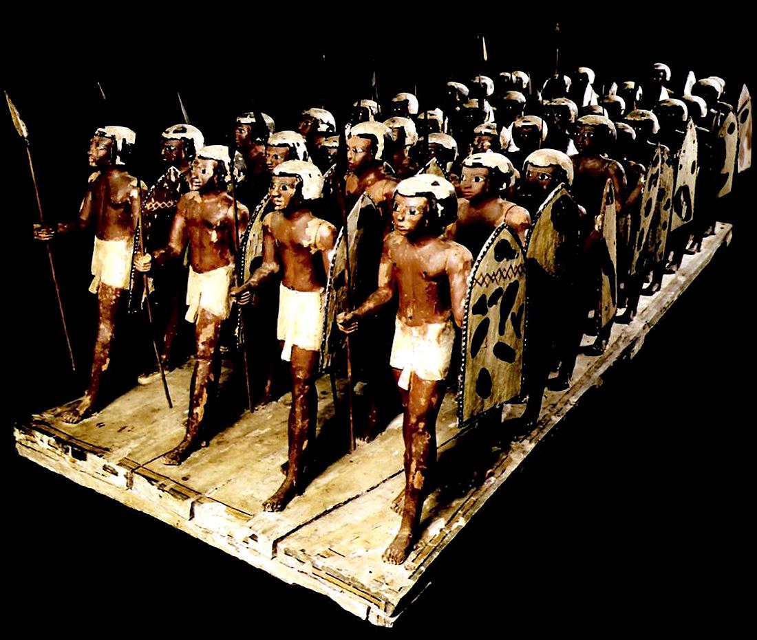 египетские воины в древности
