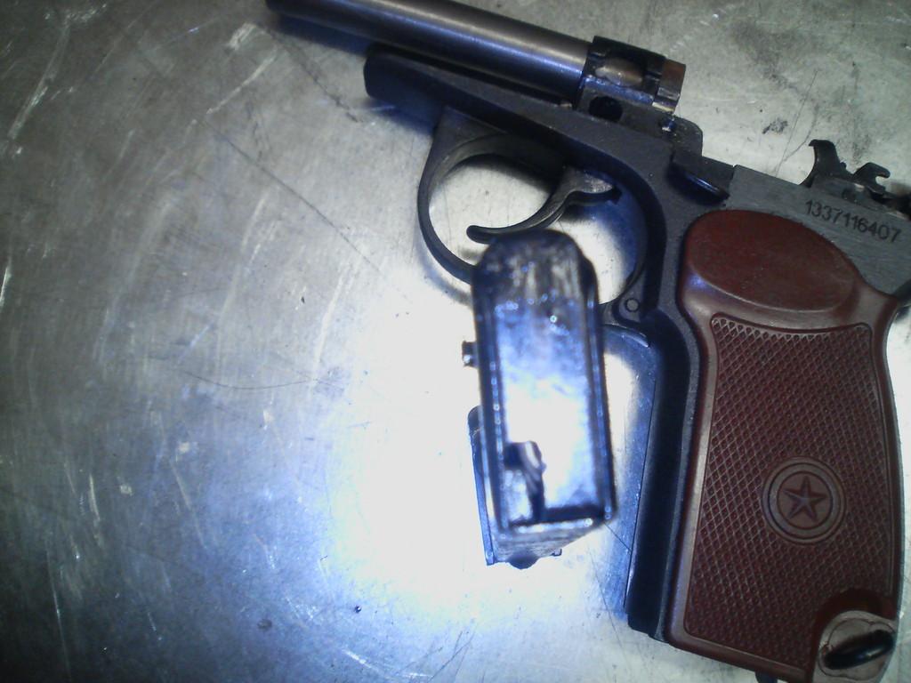шумовой пистолет для самообороны