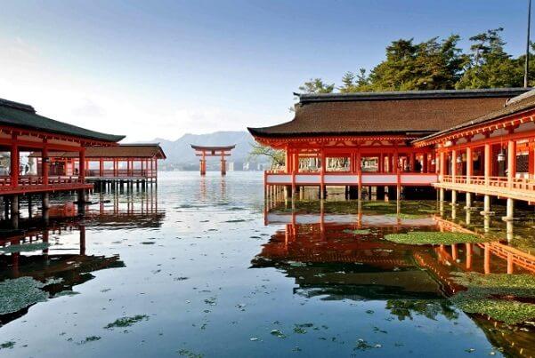 4 острова японии