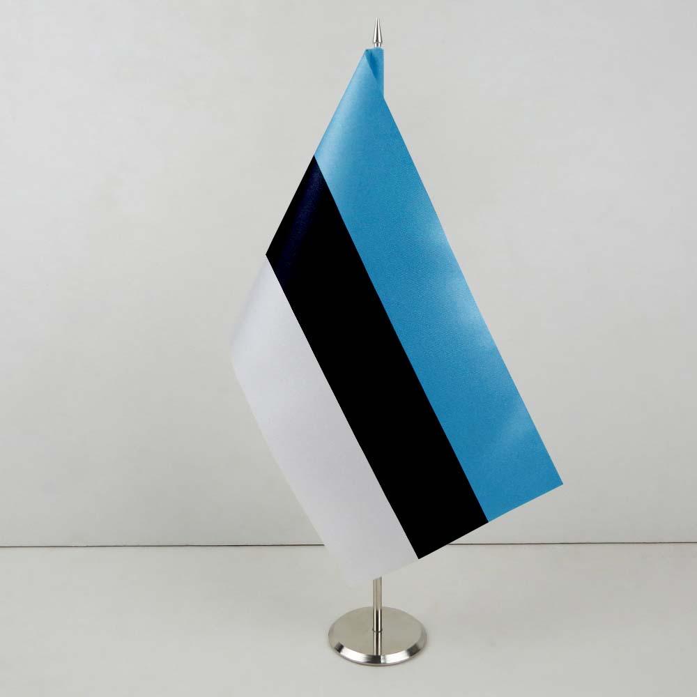 белый крест на синем фоне
