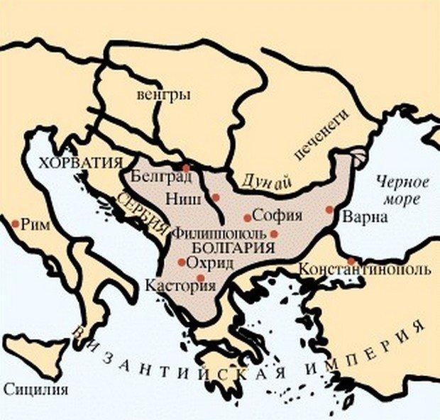 территория болгарии