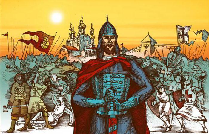 александр невский внешняя и внутренняя политика