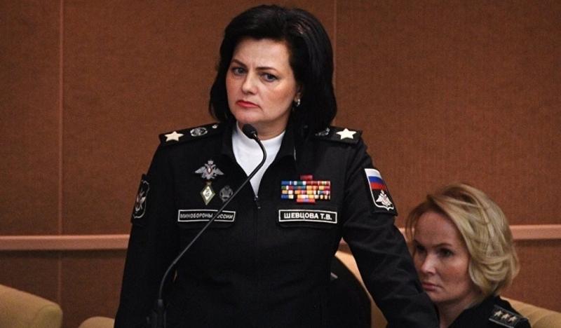 шевцова зам министра обороны