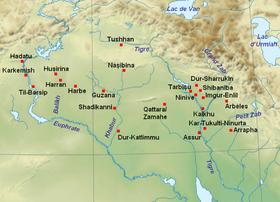 города ассирии