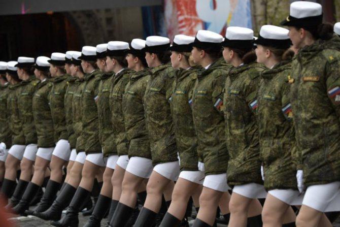 армия для девушек в россии