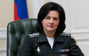 женщина генерал армии