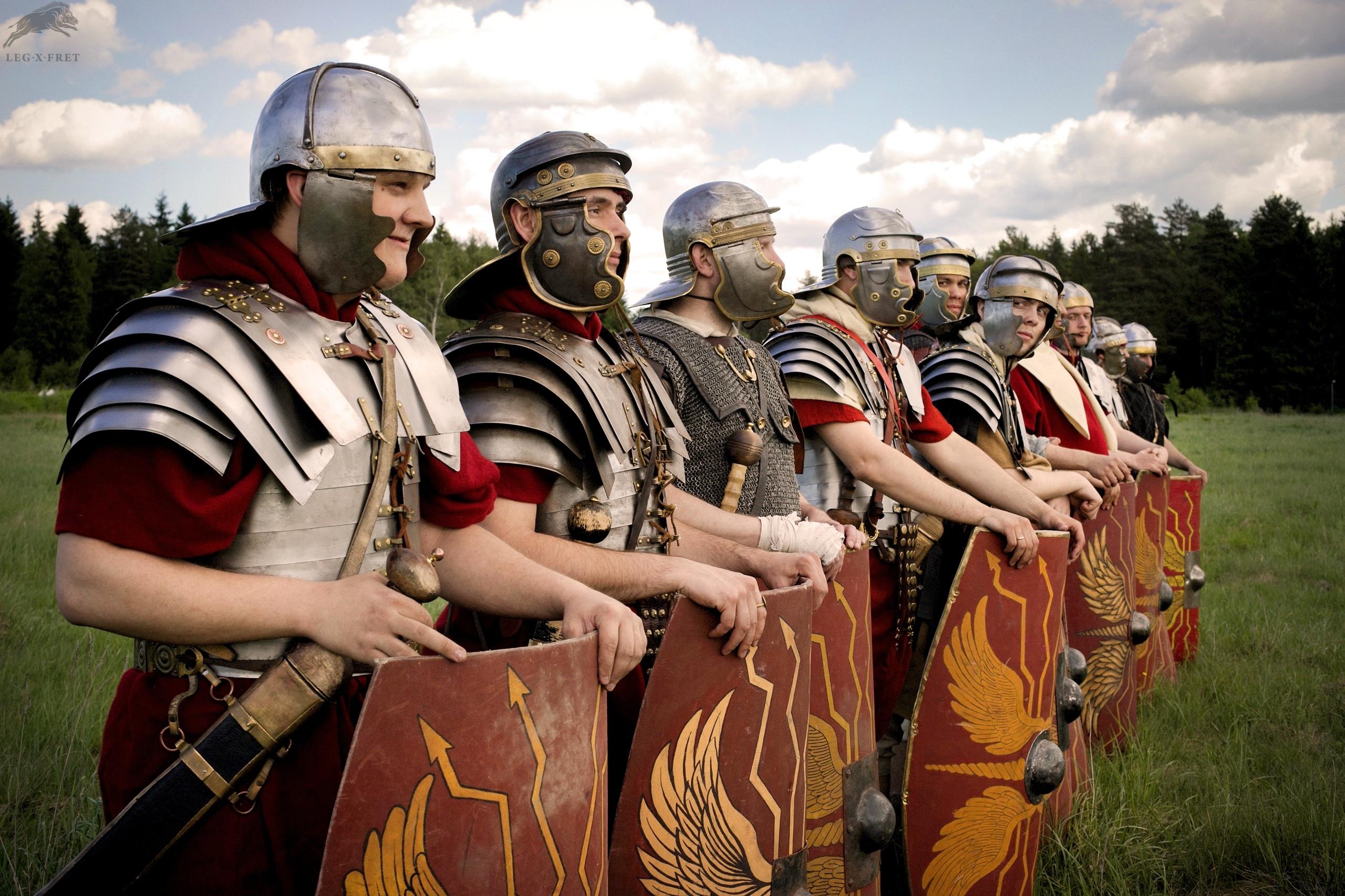 римский воин