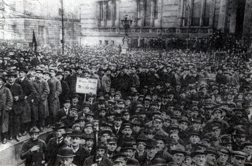 особенности революции в германии