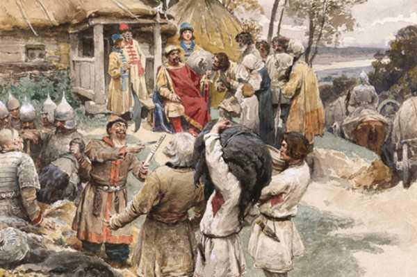 убийство князя игоря