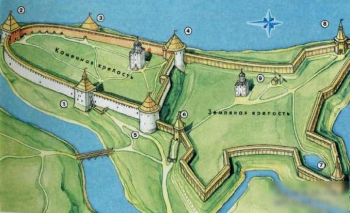 ладога на карте древней руси
