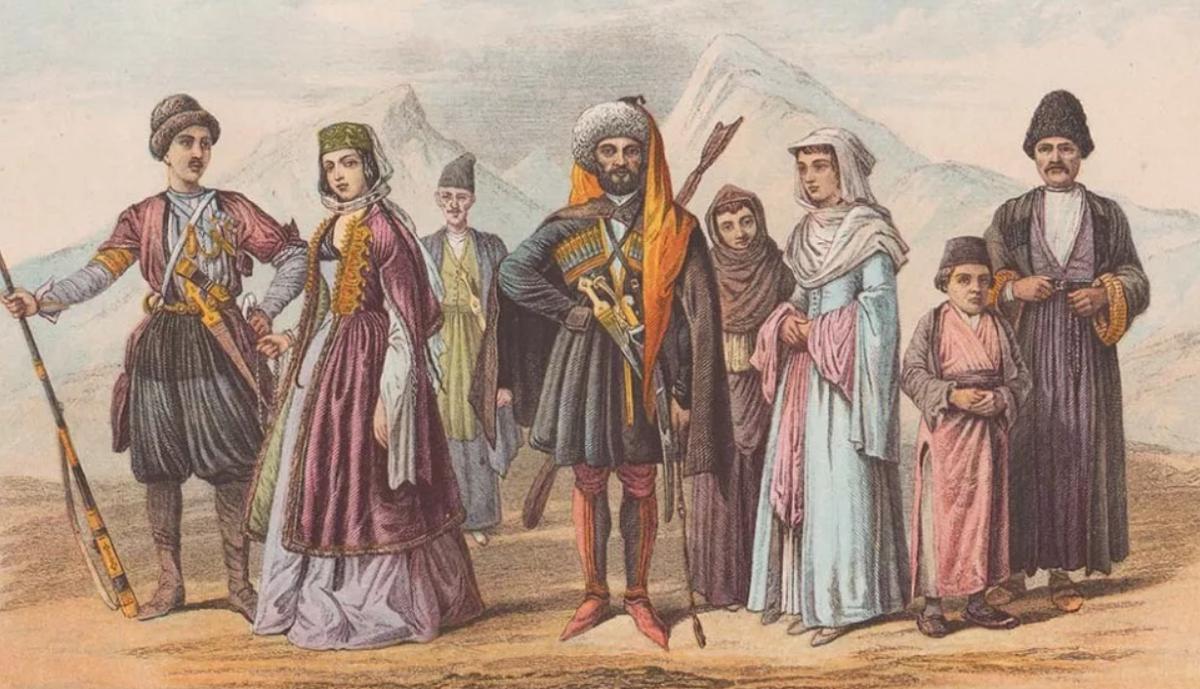 национальности кавказа список