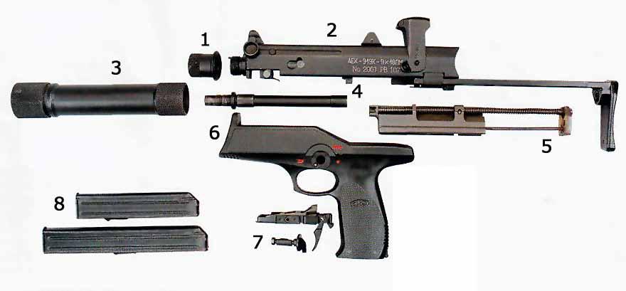 каштан оружие