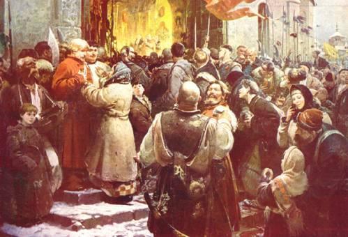воссоединение украины с россией в 17 веке