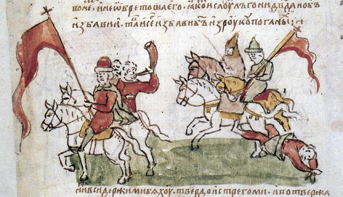 смерть князя игоря от древлян