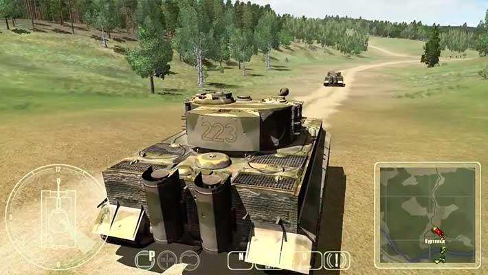 танки второй мировой т 34 против тигра