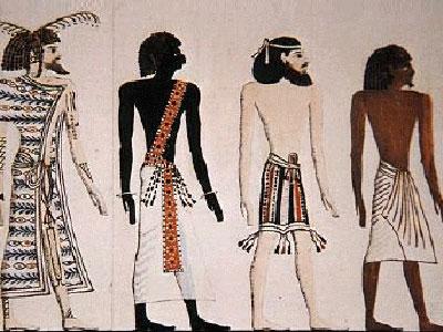 какую одежду носили древние египтяне