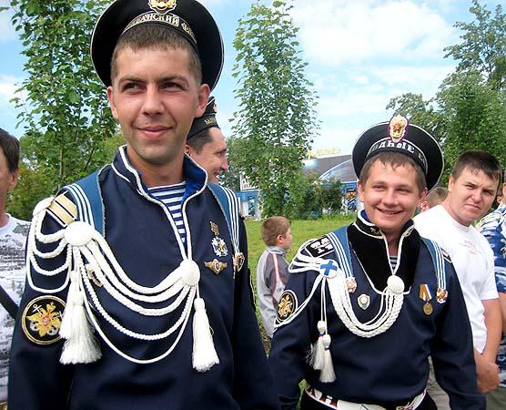 парадная форма офицеров вс рф