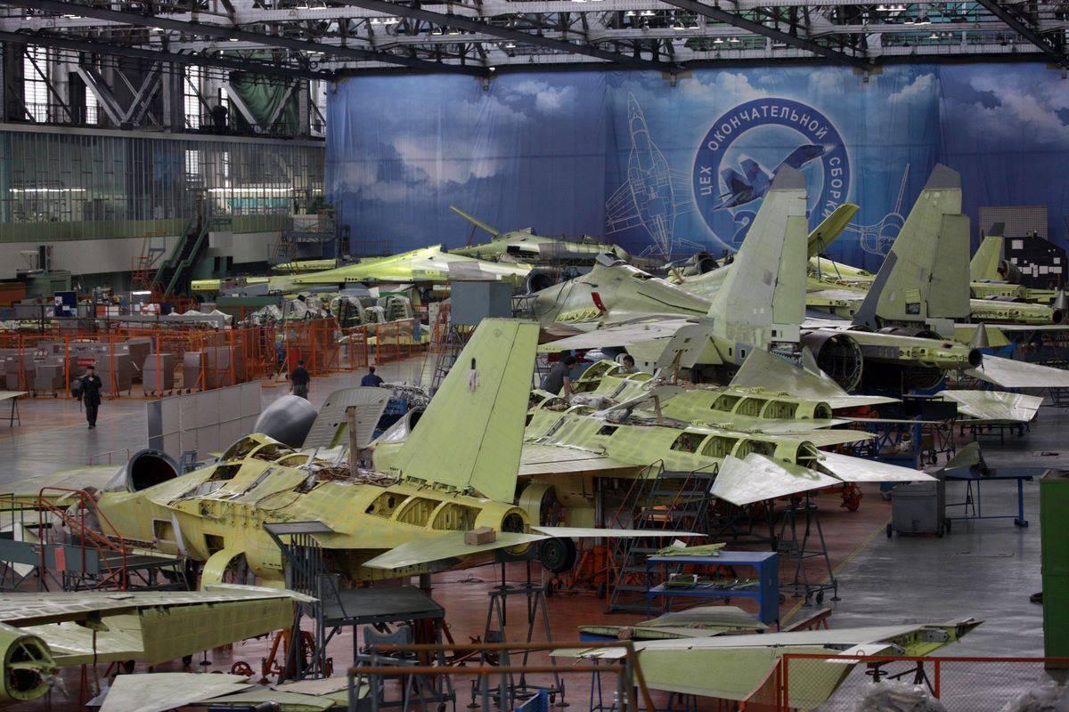 какие истребители стоят на вооружении россии