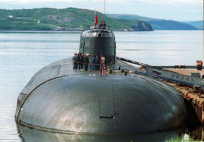 подводные лодки проекта 949а антей