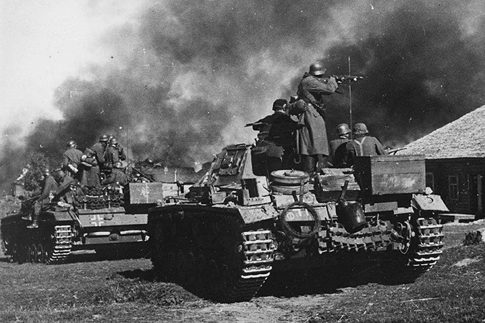 вторая мировая война нападение на ссср