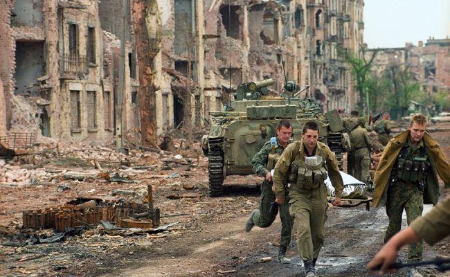 потери российской армии в чеченской войне
